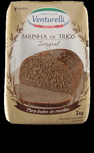 Farinha de Trigo Venturelli Integral (1kg)