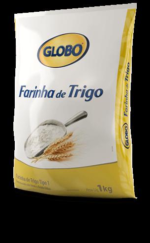 Farinha de Trigo Globo Plástica (1kg)
