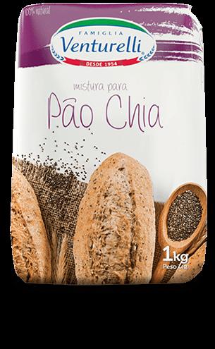 Pão de Chia Venturelli 1kg