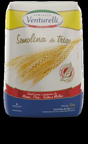 Semolina de Trigo Venturelli (5kg)