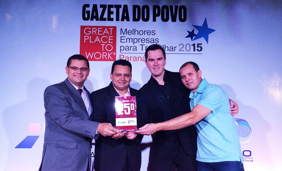Moinho Globo é uma das melhores empresas para trabalhar no Paraná