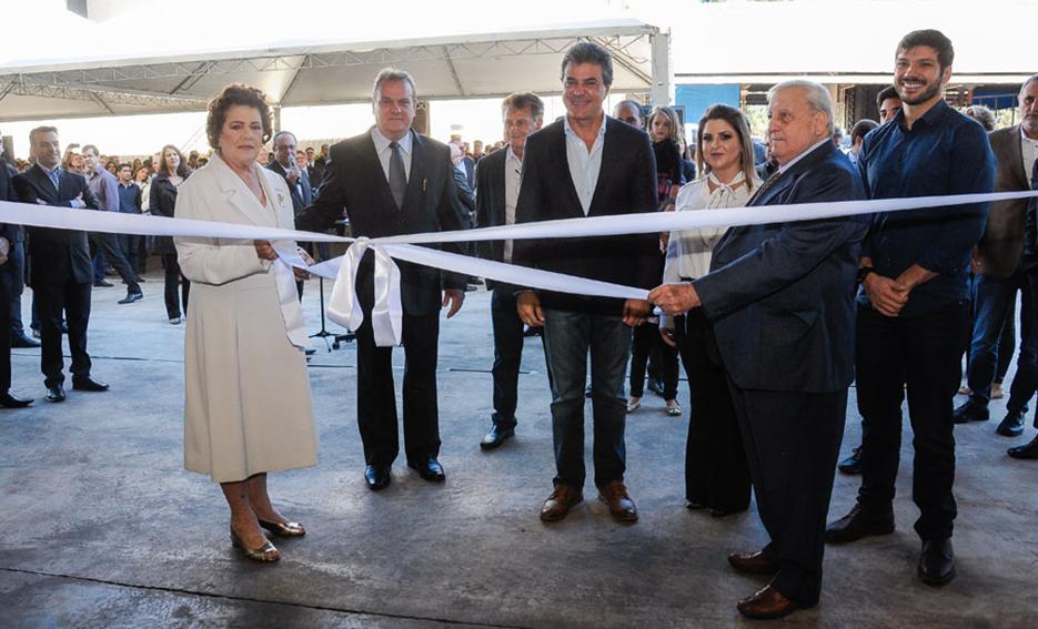 Moinho Globo inaugura nova planta em Sertanópolis