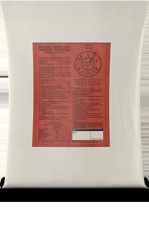 Mistura para Panetone Tradicional Mais Sabor 5kg