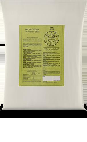 Mistura para Pão Multigrãos Mais Sabor 5kg