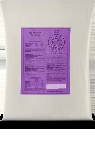 Mistura para Pão de Chia Tradicional Mais Sabor 5kg