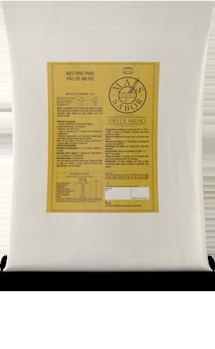 Mistura para Pão de Milho Mais Sabor 5kg
