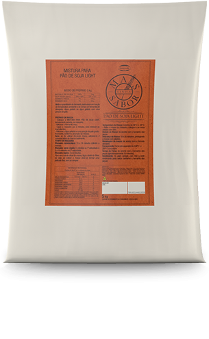 Mistura para Pão Soja Light Mais Sabor 5kg