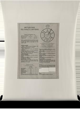 Mistura para Pão Francês Integral Mais Sabor 5kg