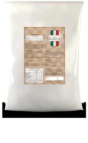 Mistura para Pão Ciabatta Massa Madre 5kg