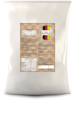 Mistura para Pão Rústico Massa Madre 5kg