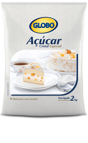 Açúcar Globo Cristal Especial (2kg)