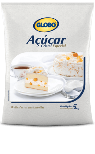Açúcar Globo Cristal Especial (5kg)