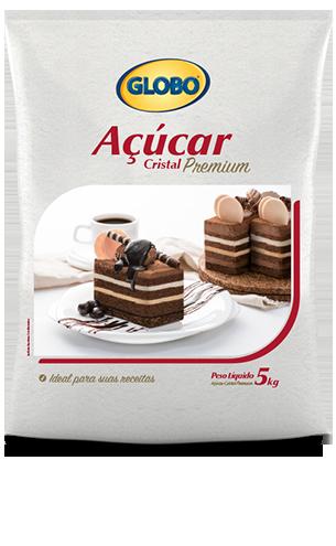 Açúcar Globo Cristal Premium (5kg)
