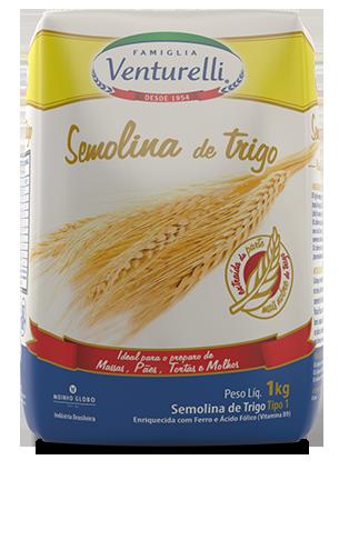 Semolina de Trigo Venturelli (1kg)