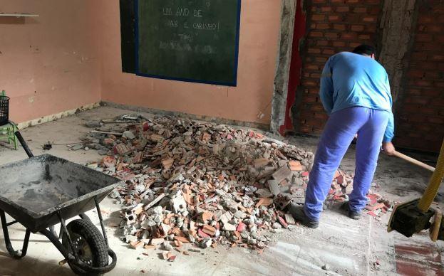 Campanha do Moinho Globo destina mais de R$ 27 mil para obras na creche Padre Vicente Mariani