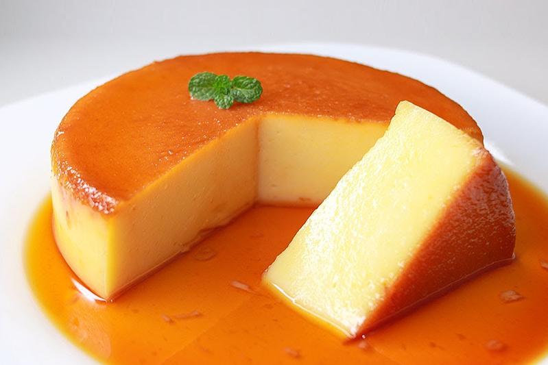 Ilustração da Receita de Receita de pudim de queijo para diabéticos